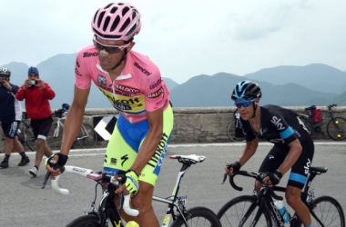 Contador and Porte racing in the 2015 Giro D'Italia (skysports.com)