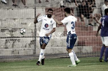 Un impetuoso Tenerife no pasa del empate en Villa Isabel (1-1)