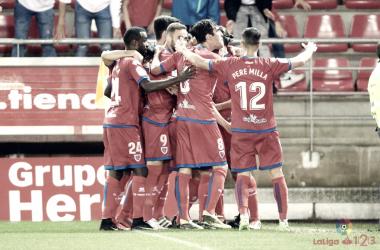 Será la primera vez que numantinos y zaragozanos se enfrenten en unas eliminatorias de ascenso a Primera División.   Foto: LaLiga 123