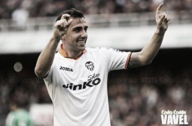 Paco Alcácer y Santi Mina, los grandes peligros del Valencia
