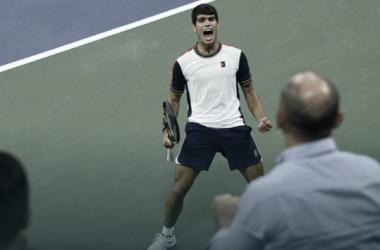 Alcaraz sigue soñando en el US Open. (Fuente: ATP Tour)