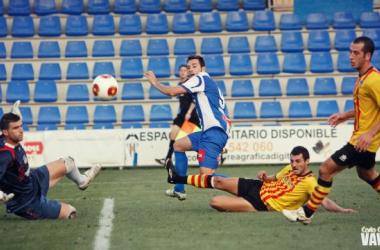 El portero Morales fue el mejor de los catalanes. (Foto: Carla Cortés)
