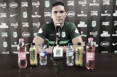 """Aldair Quintana: """"Con muchas ganas de afrontar esta Copa Libertadores de la mejor manera"""""""