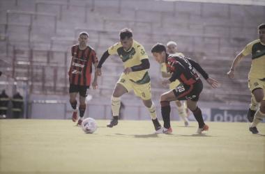 Iritier versus Krupszky (Foto: La Voz).