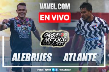 Goles y resumen del Alebrijes de Oaxaca 0-0 Atlante en Liga de Expansión 2021