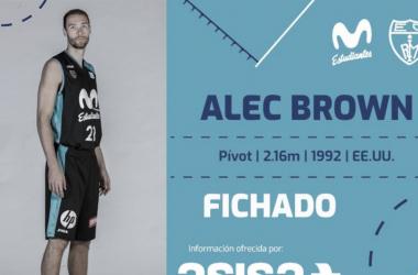 Alec Brown regresa al Estudiantes