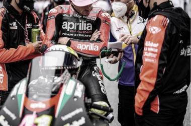 """Aleix Espargaró: """"Lo intentaré de nuevo en Silverstone"""""""