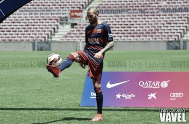 Aleix cumple años vestido de Barça
