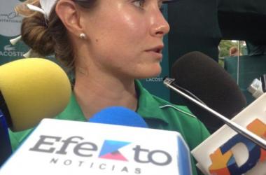 """Alejandra Llaneza: """"Contenta por el birdie"""""""