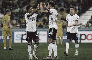 Com 14 desfalques, Ucrânia luta até o fim, mas Alemanha vence a primeira na Nations League