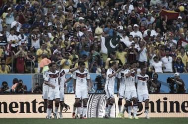 Alemanha vence com gol de Hummels e avança para as semifinais da Copa