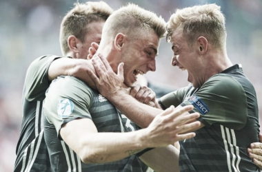 Los jugadores de Alemania celebran el pase a la final | Foto: UEFA.com