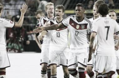 Resultado Alemania - Gibraltar en Eliminatorias Europeas (4-0)
