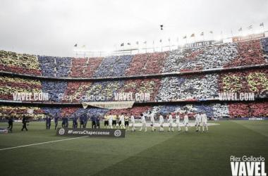 El estadio azulgrana en un Barça-Madrid   Foto: Alex Gallardo (VAVEL.com)