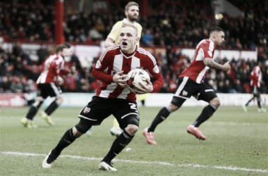 Alex Pritchard scored 11 goals this season whilst on loan at Brentford (PICTURE: Squawka)