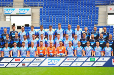Una foto di squadra dell'Hoffenheim. Google.