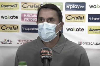 """Alexandre Guimarães: """"Quedé satisfecho con el rendimiento, con el resultado"""""""