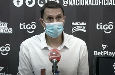 """Alexandre Guimarães: """"Hemos visto un compromiso de los jugadores tremendo"""""""
