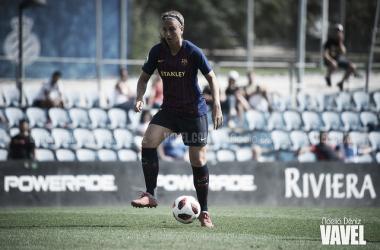 Alexia Putellas, durante un partido de esta temporada.   FOTO: Noelia Déniz - VAVEL
