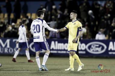 Jesús Alfaro con el Real Zaragoza | Foto: LaLIga