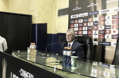 Gustavo Alfaro en conferencia de prensa (foto:IAM)
