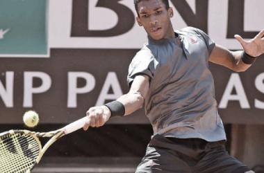 Félix Auger-Aliassime venceu Diego Schwartzman noMasters 1000 de Roma 2021 (ATP / Divulgação)
