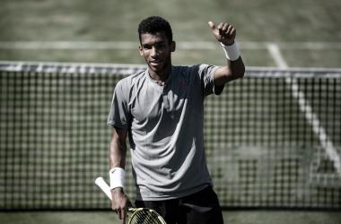Jovem de 20 anos ainda busca primeiro título em nível ATP (Foto: Divulgação/Mercedes Cup)