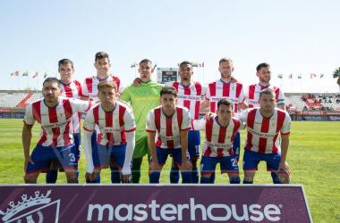 Once inicial del Algeciras CF en la última jornada de la primera fase | Fuente: Twitter Algeciras CF