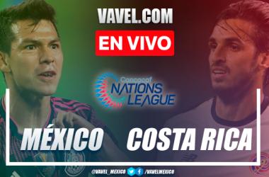 Resumen del México 0(5)-(4)0 Costa Rica en Semifinal Liga de Naciones CONCACAF