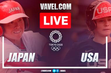 Runs and highlights: Japan 2-0 USA in Olympics Games Softball Gold Medal