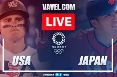 Runs and highlights: USA 6-7 Japan in Baseball Olympic Games