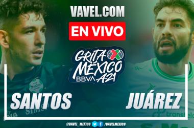 Resumen y goles: Santos Laguna 2-0 FC Juárez en Liga MX Apertura 2021