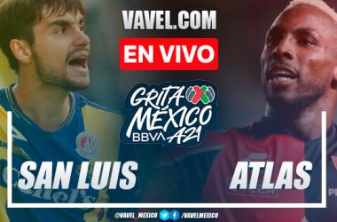 Resumen y goles: Atlético San Luis 2-6 Atlas por Liga MX 2021