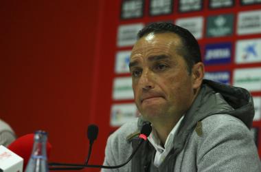 Oltra durante su rueda de prensa de despedida | Foto: Antonio L. Juárez