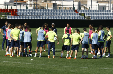 Última lista con novedades del Granada CF