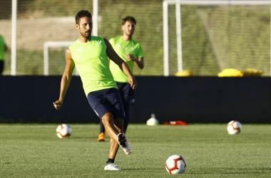 Germán Sánchez, en un entrenamiento [Foto: Antonio L Juárez]