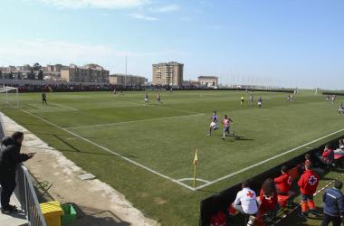La Ciudad Deportiva del Granada CF acogerá el último partido del filial | Foto: Antonio L. Juárez