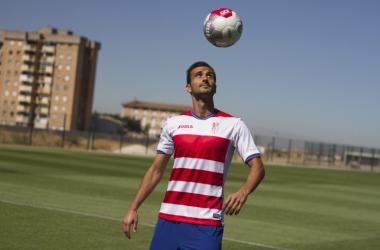 Saunier vuelve a estar convocado tras superar su lesión. Foto: Antonio L. Juárez.