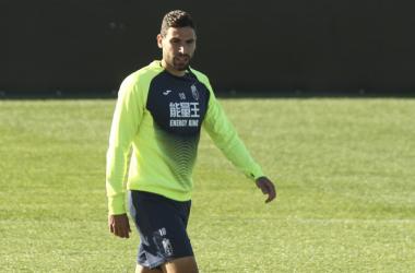 Antonio Puertas durante un entrenamiento. | Foto: Antonio L. Juárez