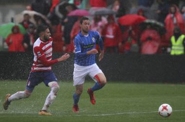 Lance del Granada B - Real Murcia de la temporada pasada | Foto: Antonio L. Juárez