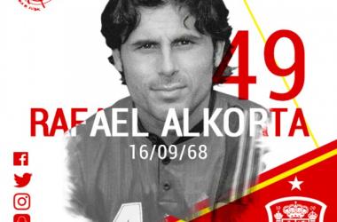 Cumple años el histórico Rafael Alkorta, exjugador del Athletic, Real Madrid y la Selección española