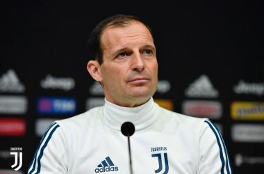 Juventus, Allegri in conferenza | www.twitter.com (@juventusfc)