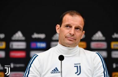 Juventus, Allegri prima del Benevento | www.twitter.com (@juventusfc)
