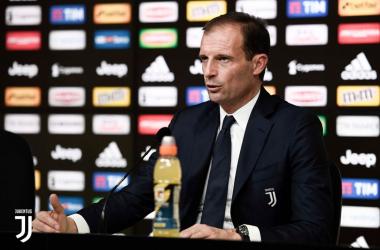 """Juventus, Allegri in vista dell'Atalanta: """"Dybala ha bisogno di giocare"""""""