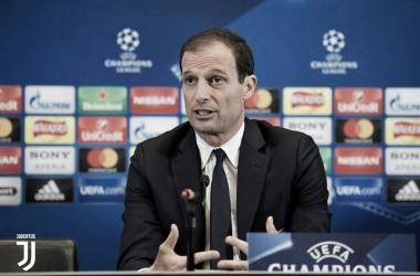 """Allegri: """"Saldremos con tres delanteros en el Bernabéu"""""""