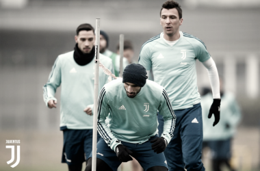 I bianconeri si allenano a Vinovo / JuventusTwitter