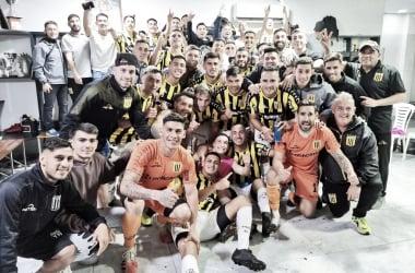 Los tres puntos se quedaron en La Matanza: El partido tuvo lugar en el Estadio Fragata Presidente Sarmiento.&nbsp;<div>Foto: @Club_AlteBrown</div>