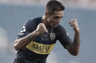 Agustín Almendra durante el último partido. (Foto: Claro)