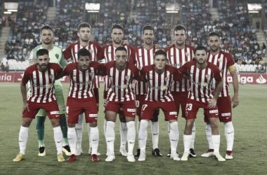 Puntuaciones UD Almería - Málaga CF, jornada 3 LaLiga 1 2 3: puntuaciones UD Almería