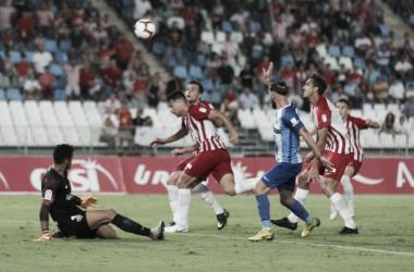 El Málaga CF se lleva los puntos del Mediterráneo